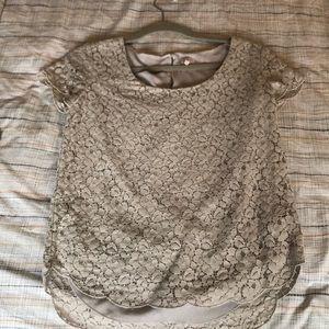 Aritzia Talula lace blouse